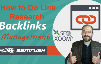 How to Do Link Research Backlinks Research SEO XOOM
